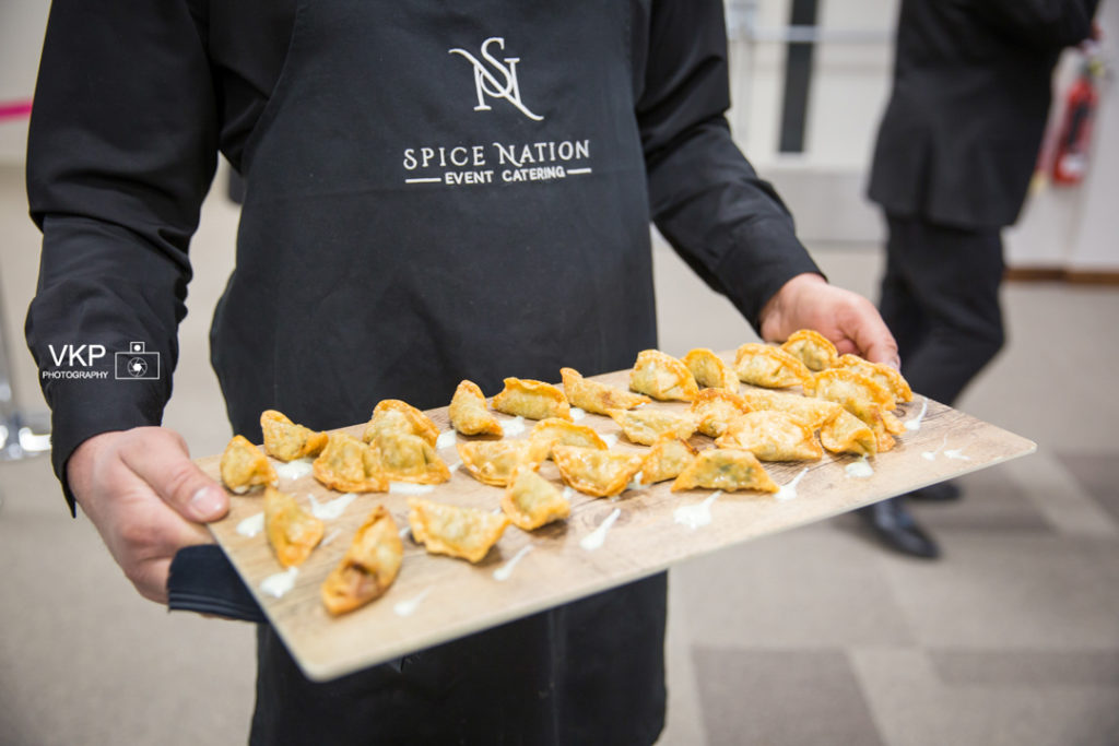 Spice Nation food Birmingham canape