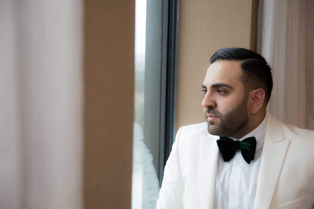 wedding reception photoshoot birmingham groom