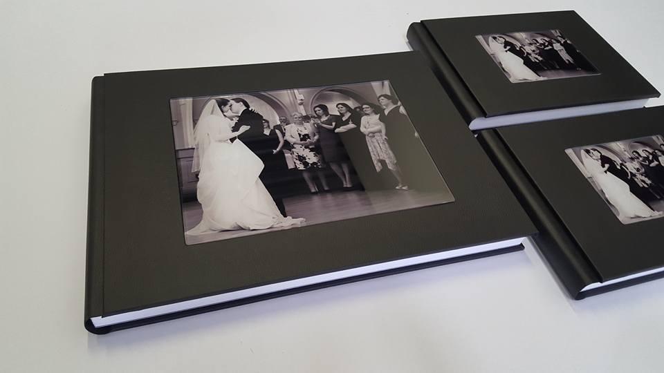 Wedding Album Birmingham Glass Cover
